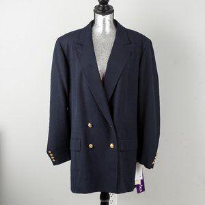 NWT Lauren Ralph Lauren navy blazer - sz 20W